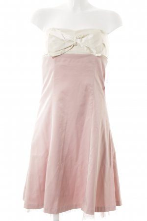 Laura Scott Cocktailkleid creme-rosa Elegant