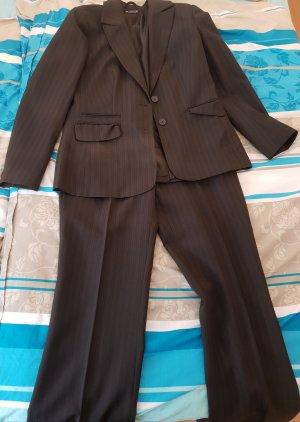 Laura Scott Tailleur pantalone marrone scuro