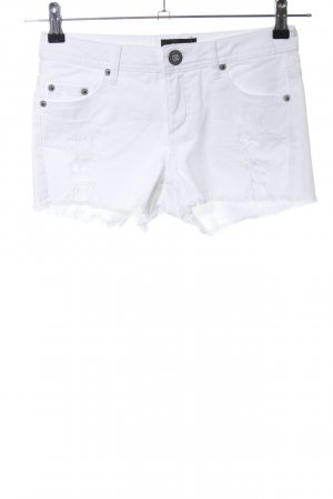 Laura Scott Hot Pants white casual look
