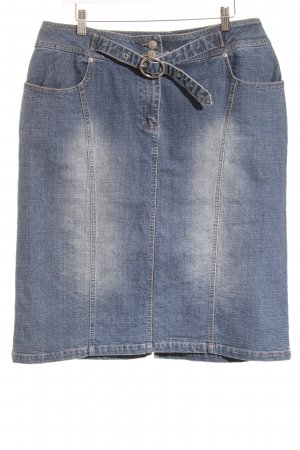 Laura Scott Jeansrock blau Casual-Look