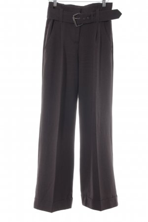 Laura Scott Pantalone peg-top grigio scuro elegante