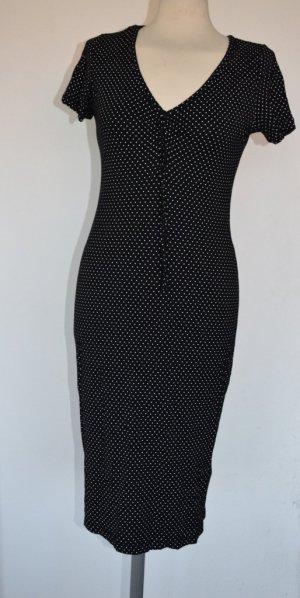 Laura Scott - Kleid aus Viskosestretch mit Punkten - neu