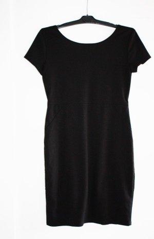 Laura Scott Kleid Größe 40 schwarz Kurzarm
