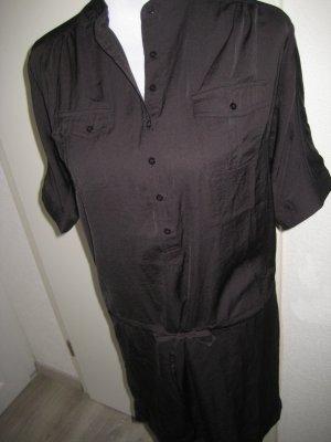Laura Scott Vestido estilo camisa negro