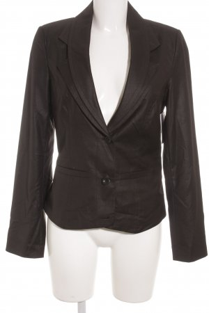 Laura Scott Kurz-Blazer schwarz Business-Look
