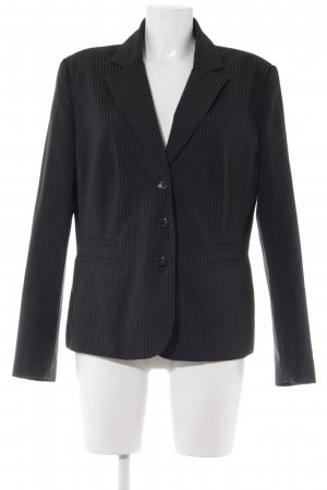 Laura Scott Kurz-Blazer schwarz Nadelstreifen Business-Look