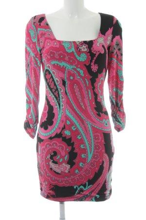 Laura Scott Jurk met lange mouwen abstract patroon extravagante stijl