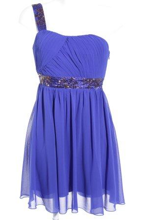 Laura Scott One-Shoulder-Kleid blau Elegant