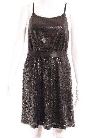 Laura Scott Abito con paillettes nero stile festa