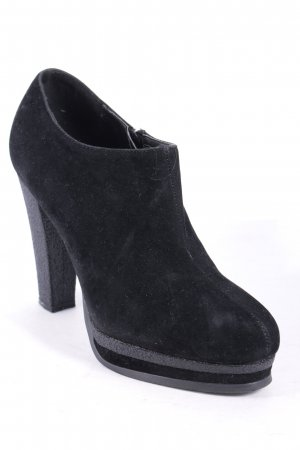 Laura Scott Plateau-Pumps schwarz-grau Business-Look