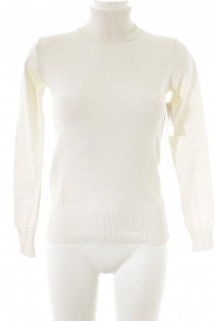Laura Scott Turtleneck Sweater natural white casual look