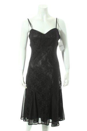 Laura Scott Spitzenkleid schwarz Elegant