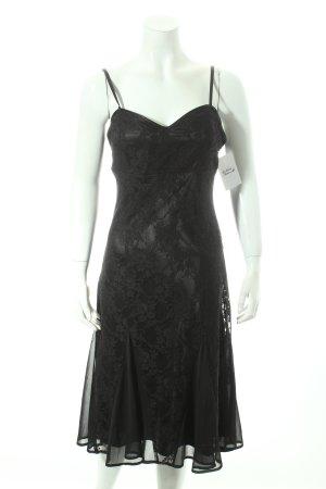 Laura Scott Spitzenkleid schwarz Eleganz-Look