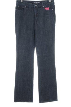 Laura Scott Straight-Leg Jeans dunkelblau Casual-Look