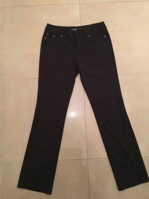 Laura Scott Five-Pocket Trousers black