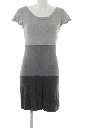 Laura Scott Gebreide jurk veelkleurig simpele stijl