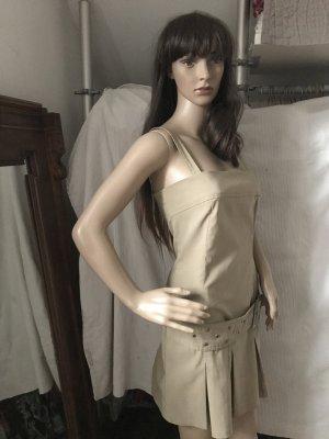 Laura Scott Mini-jurk zandig bruin