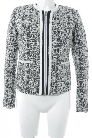 Laura Scott Übergangsjacke weiß-schwarz Street-Fashion-Look