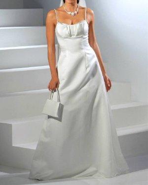 Laura Scott Wedding Brautkleid, creme Abendmode Gr. 38
