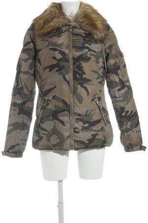 Laura Scott Winterjacke Camouflagemuster Casual-Look