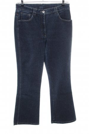Laura Stein Boot Cut Jeans blau Casual-Look