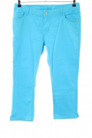 Laura Torelli 3/4 Length Trousers blue casual look