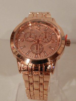 Laura Torelli Montre analogue or rose bronze