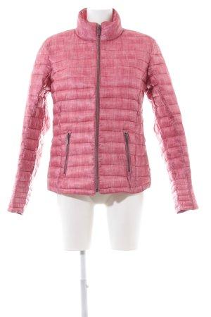Laura Torelli Steppjacke pink Steppmuster Casual-Look