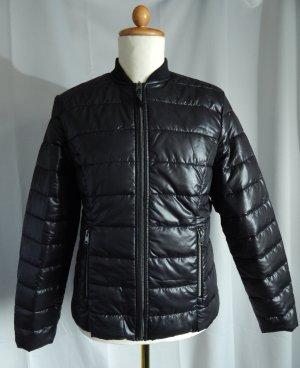 Laura Torelli Gewatteerd jack zwart Polyester