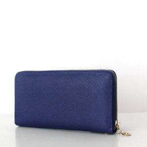 LAURA Wallet Saffiano Royal Blau Geldbörse Portemonnaie