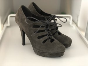 Laura Lace-up Pumps anthracite