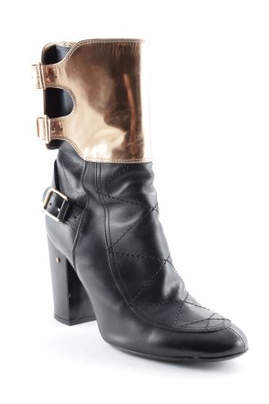 Laurance dacade paris Heel Boots black-bronze-colored street-fashion look