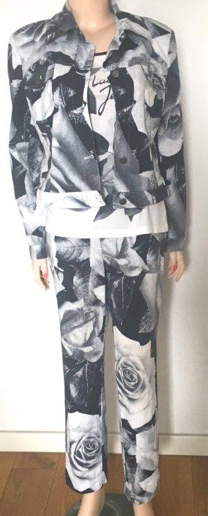 Laurèl Traje de pantalón multicolor Algodón
