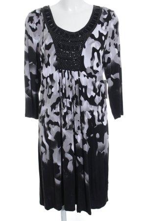 Laurèl A-Linien Kleid abstraktes Muster Street-Fashion-Look