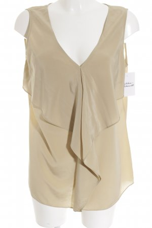Laurèl ärmellose Bluse beige Casual-Look
