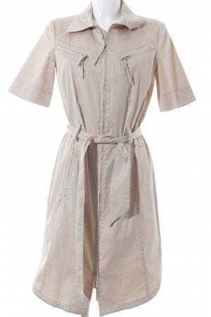 Laurèl Robe chemisier beige style d'affaires