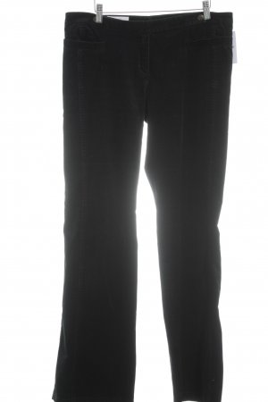 Laurèl Pantalone di velluto a coste blu scuro stile casual