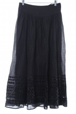 Laurèl Crash Skirt black casual look