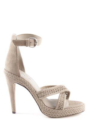 Laurèl High Heel Sandaletten graubraun Elegant