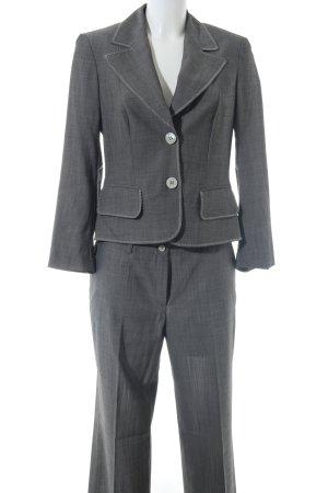 Laurèl Traje de pantalón gris claro moteado estilo «business»