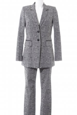 Laurèl Trouser Suit black houndstooth pattern business style