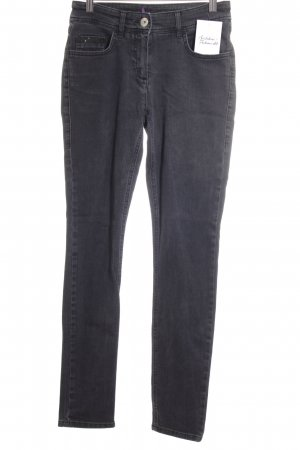 Laurèl Low Rise Jeans dark grey classic style