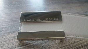 Laurel Jeans Gürtel weiss