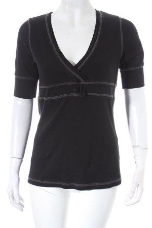 Laurèl Jeans T-Shirt schwarz-grau Casual-Look