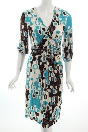 Laurèl Jerseykleid abstraktes Muster extravaganter Stil