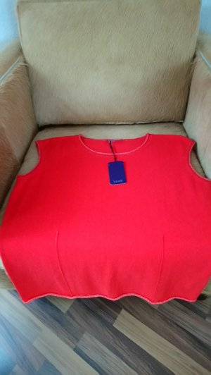 Laurèl Top lavorato a maglia rosso chiaro-rosso