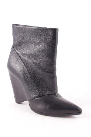 Laurèl Keil-Stiefeletten schwarz extravaganter Stil