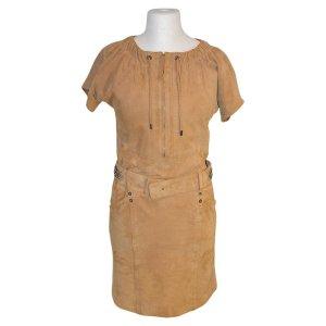 Laurèl Kleid aus Wildleder, GR. 38
