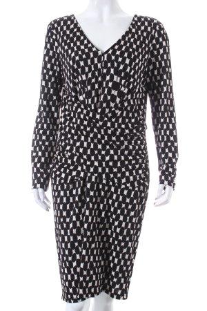 Laurèl Kleid schwarz-weiß Punktemuster Elegant