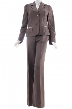 Laurèl Kostüm graubraun Business-Look